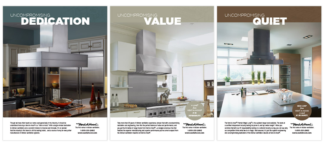 magazine ad in trade publication for manufacturing company by dallas advertising agency B12 Group