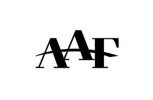 award winning advertising design logo for AAF - American Advertising Federation