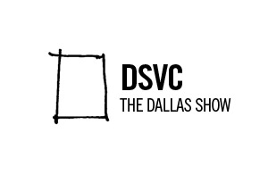 award winning brand design logo for the DSVC Awards, also known as the Dallas Show