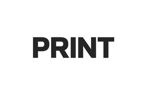 award winning graphic design logo for the Print Magazine Print Regional Design Awards