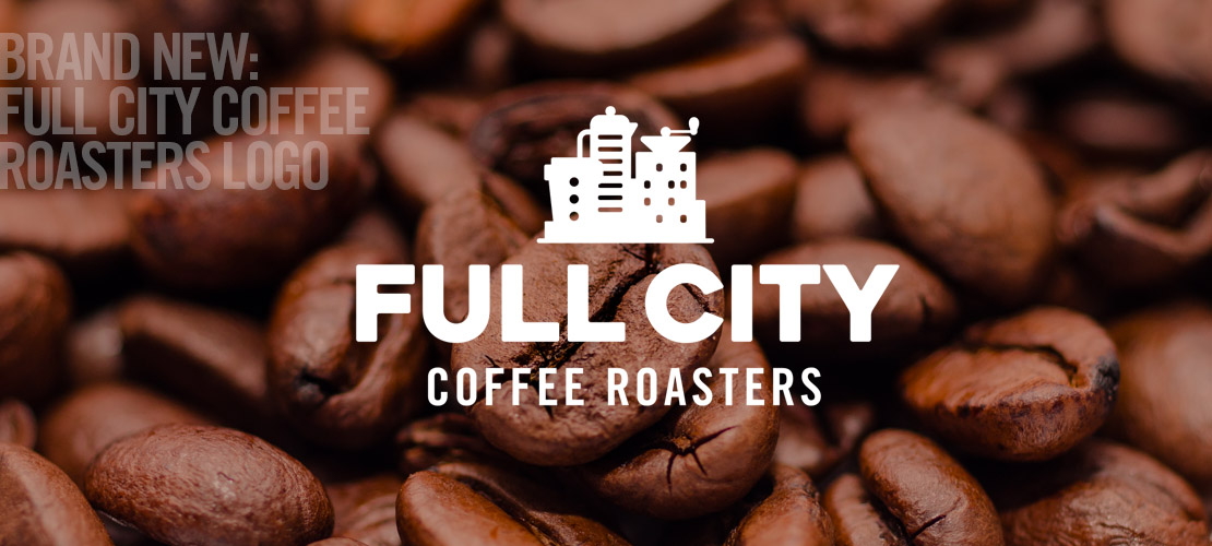 image of the logo trademark and brand identity design of full city coffee by dallas logo designer and design firm B12 Group
