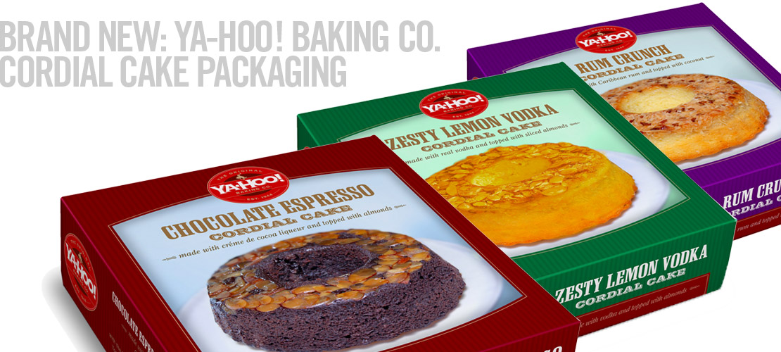 image of the ya-hoo! baking co. cakes for Tuesday Morning from the recent brand identity design section