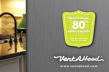 vent-a-hood print advertising portfolio sample
