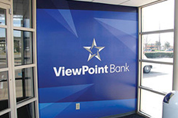 viewpoint bank brand identity portfolio sample