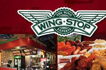 wing stop brand collateral design portfolio sample