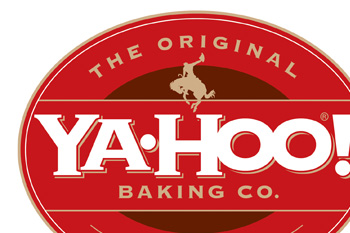 ya-hoo! baking co. logo design portfolio sample