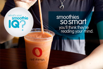 red mango promotional design portfolio sample